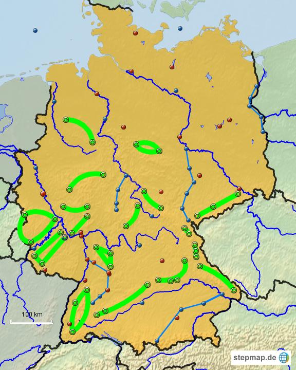 Deutschlandkarte Zum Ausf 252 Llen My Blog