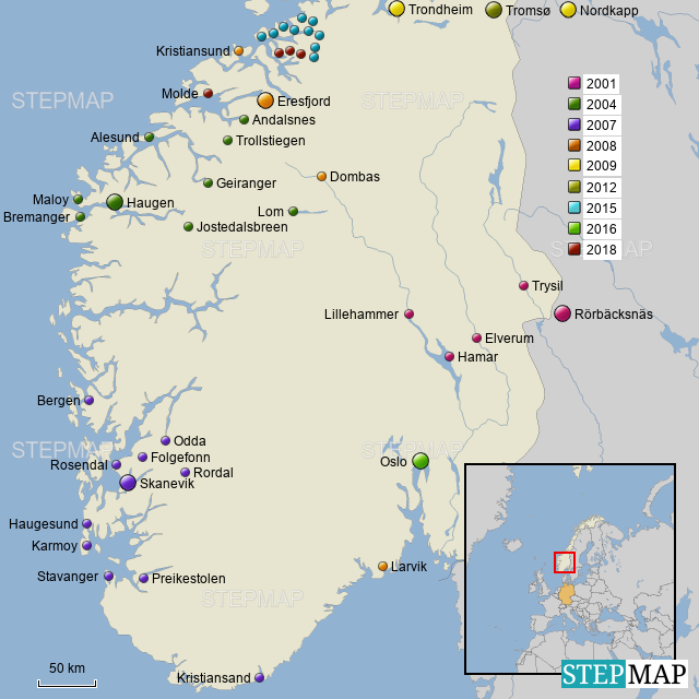 Karte Südnorwegen.Südnorwegen Von Macgyver5763 Landkarte Für Norwegen