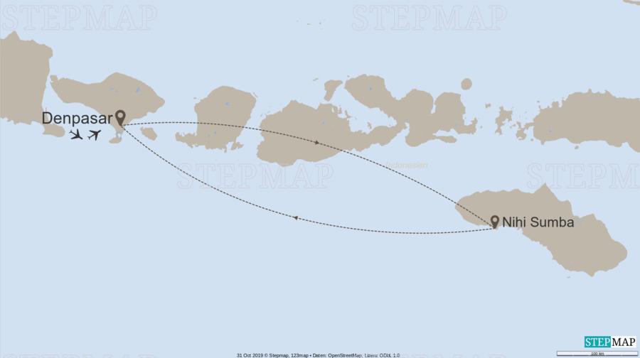 Landkarte: Sumba Time / 10059