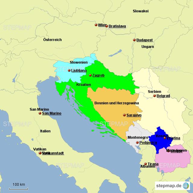 Jugoslawien Heute