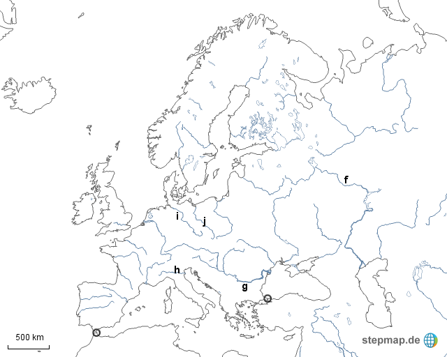 topographie europa test