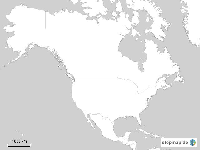 Stumme Karte Nordamerika.Leere Karte Nordamerika Filmgroephetaccent