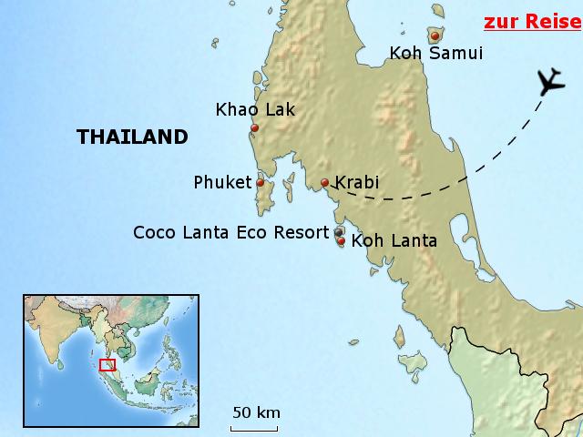 krabi thailand karte TGP02 Relax Bay Phuket Koh Lanta Krabi Thailand Karte   CitiesTips.com krabi thailand karte
