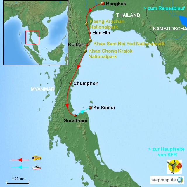 Thailand Karte Welt.Thailand Karte Koh Samui Hanzeontwerpfabriek