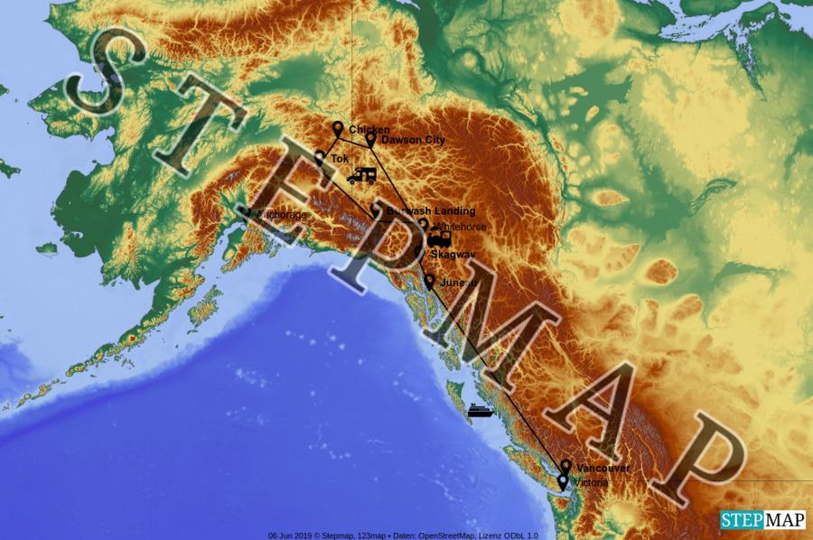 Landkarte: The Klondike