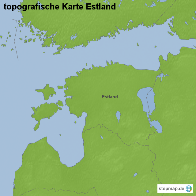 Topographische Karte Ungarn.Stepmap Topografische Karte Estland Landkarte Fur Estland