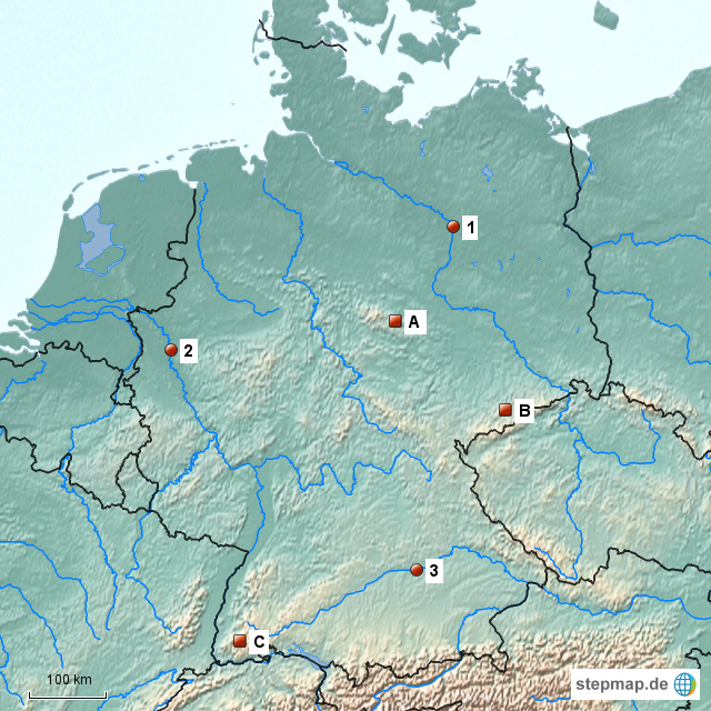 topographie europa test