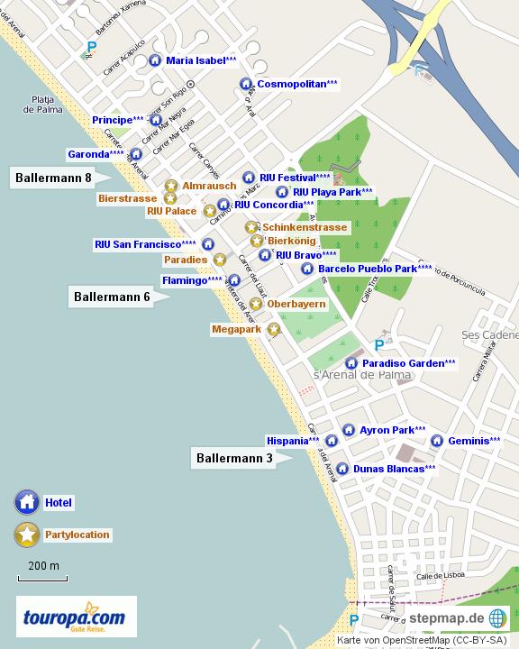 Palma De Mallorca Hotel Ballermann
