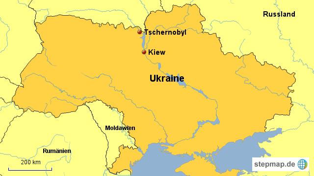 tschernobyl karte Tschernobyl von paschmuk   Landkarte für Deutschland