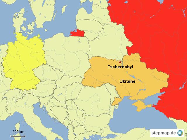 Tschernobyl Karte.Tschernobyl Karte Europa My Blog