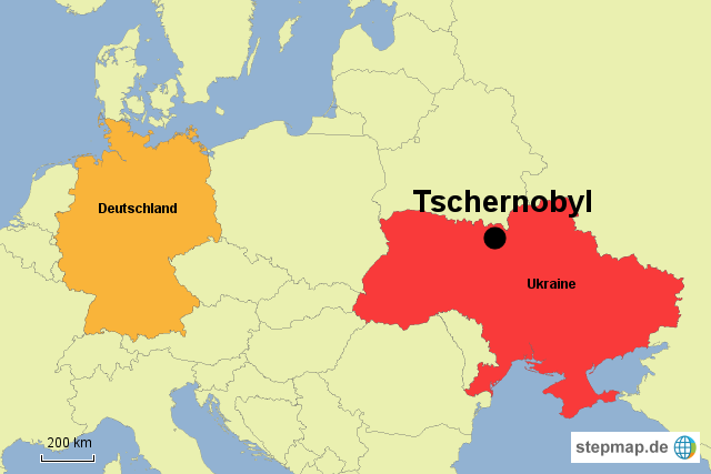 tschernobyl karte Landkarte Tschernobyl | Deutschland Karte