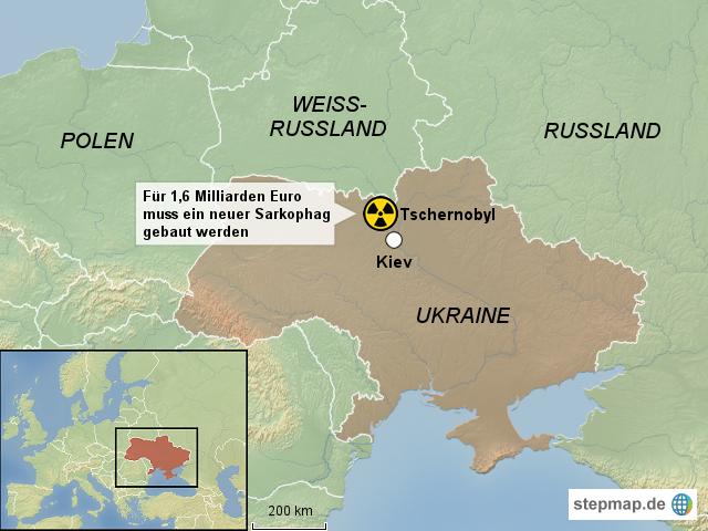 Tschernobyl Karte.Tschernobyl Ukraine Karte My Blog