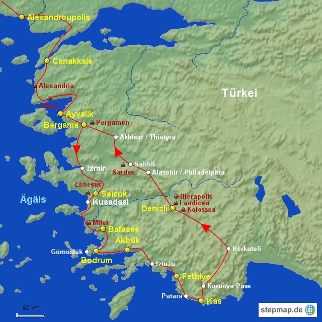 türkische ägäis karte Türkische ägäis Landkarte   Deutschland Karte türkische ägäis karte
