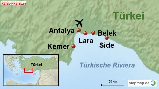 lara türkei karte Lara Türkei Karte   Karte