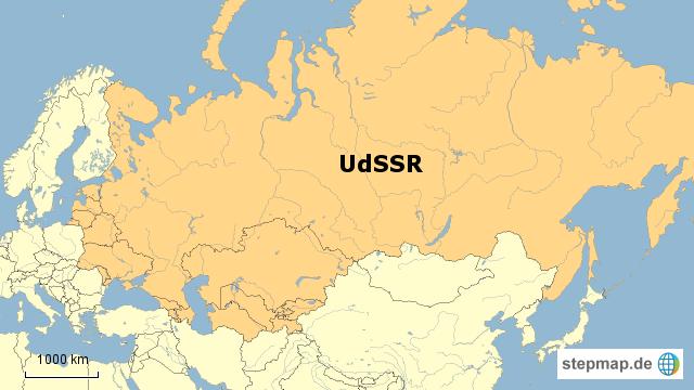 sowjetunion karte Landkarte Udssr   Deutschland Karte sowjetunion karte
