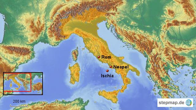 Entfernung Rom Neapel