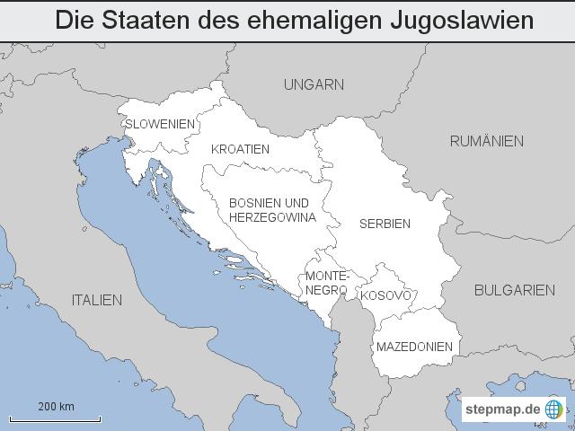 Jugoslawien Karte 2018.Jugoslawien Weltkarte Creactie