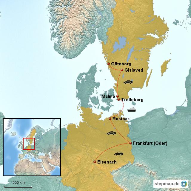 urlaub schweden 2012 von jens67 landkarte f r deutschland. Black Bedroom Furniture Sets. Home Design Ideas