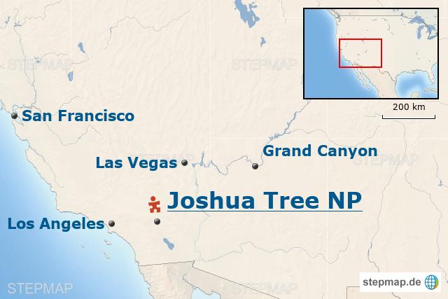 USA-Baustein: Joshua Tree – Ausflug in die Mojave Wüste von ...