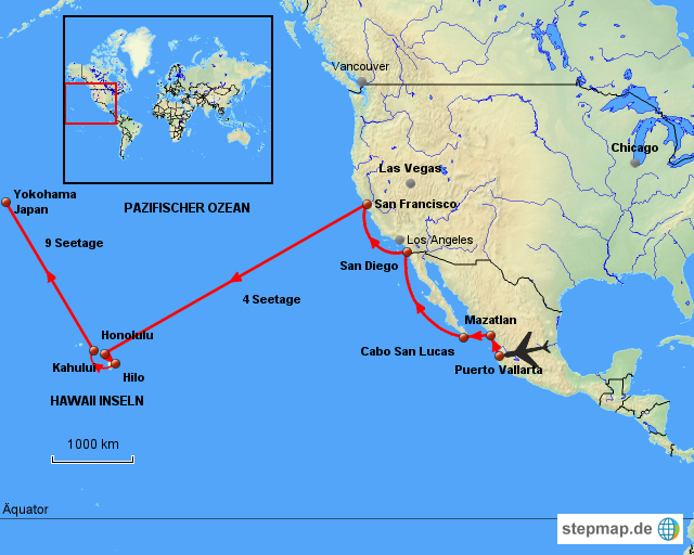 karte hawaii USA   Hawaii   Asien von HermannLichtner   Landkarte für Nordamerika