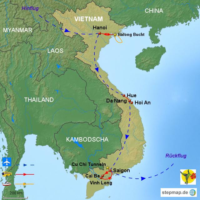 VIE ACT 08 Streifzug Durch Die Vietnamesische Küche Und Mehr, 12 Tage