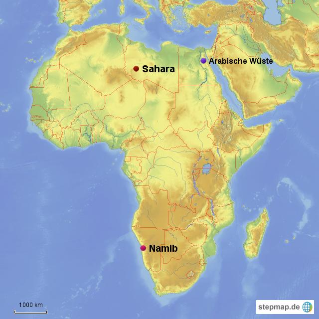 W 252 Sten Afrikas Von Lolilol Landkarte F 252 R Afrika