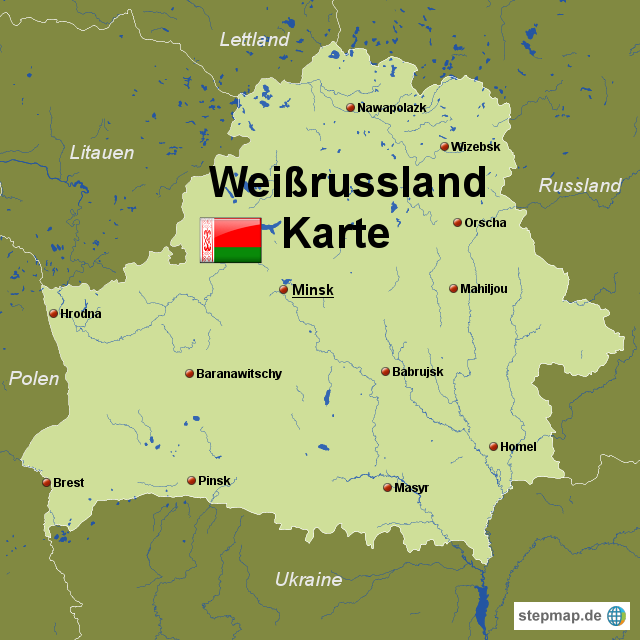 Weissrussland Karte | Metro Map | Bus Routes | Metrobus Way Map ...