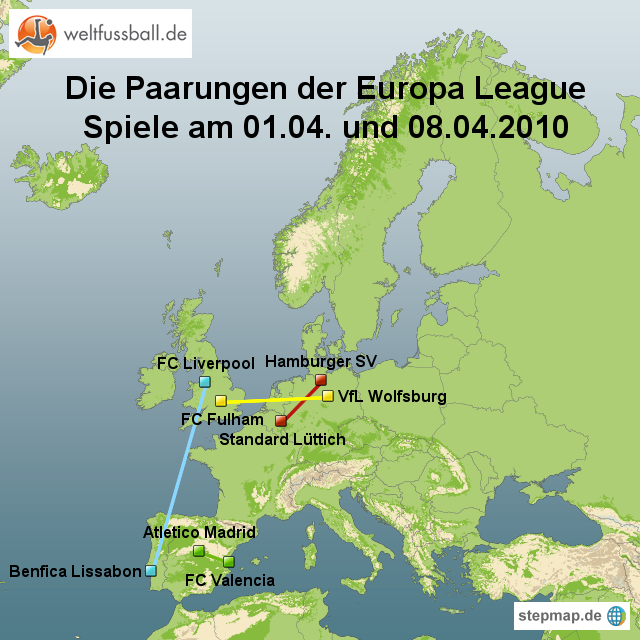europa league paarungen