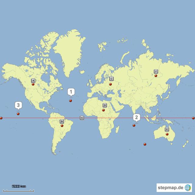 Pin weltkarte kontinente ozeane on pinterest for Pinterest weltkarte