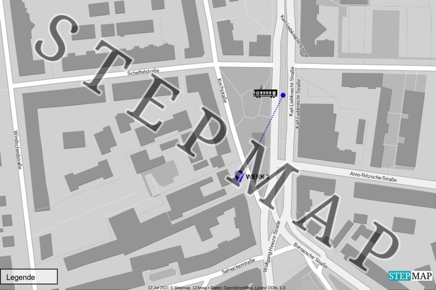 Landkarte: Werk 2