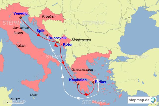 Stepmap Westliches Mittelmeer Landkarte Fur Europa