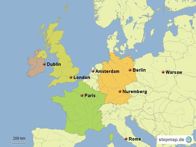 Where Is Dublin Von Kniejodek Landkarte Für Deutschland - Where is dublin