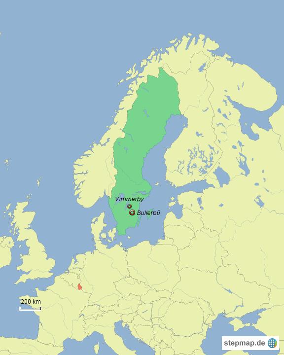wo liegt eigentlich bullerb von sonneblumm67 landkarte f r schweden. Black Bedroom Furniture Sets. Home Design Ideas