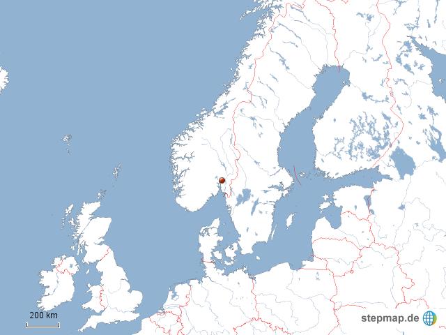 wo liegt oslo von dasfliegendeschwein landkarte f r norwegen. Black Bedroom Furniture Sets. Home Design Ideas
