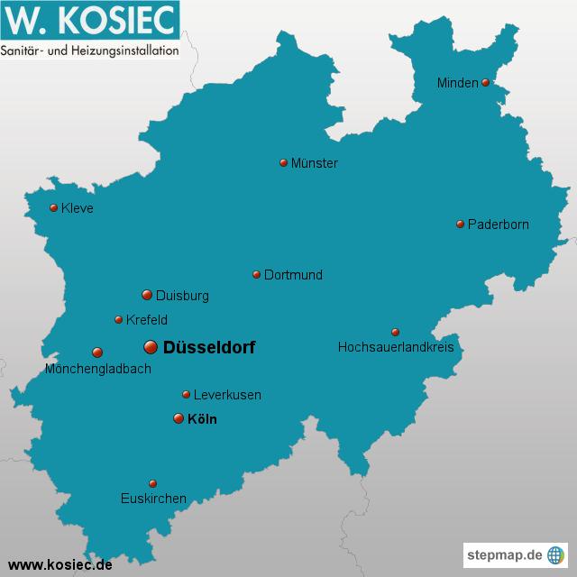 Klempner Düsseldorf kosiec de sanitär installateur klempner düsseldorf job82 landkarte für nordrhein