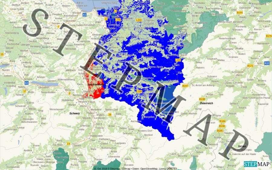 Landkarte: Z